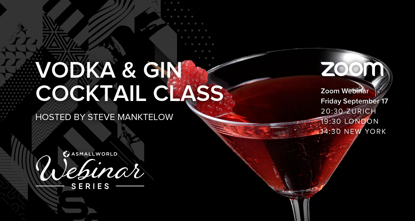 Virtual Cocktail Class - Vodka & Gin Cocktails