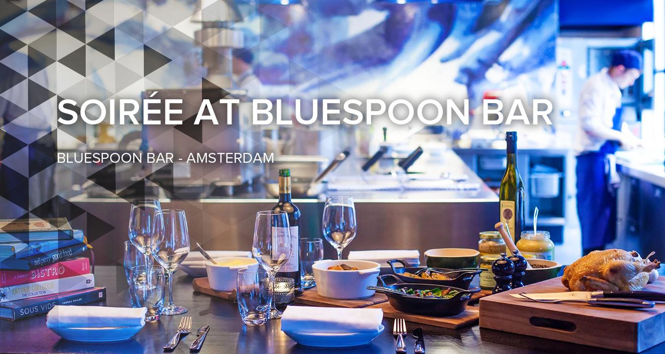 Evening at Bluespoon Bar