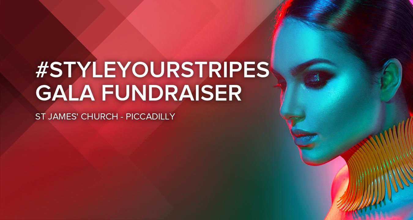 #styleyourstripes Gala Fundraiser by Atelier Tammam