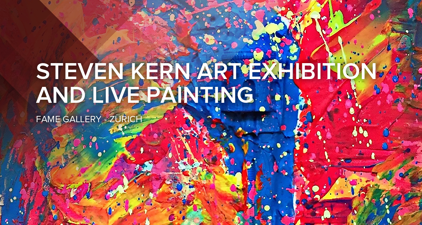 Contemporary Art Exhibition and Live Painting